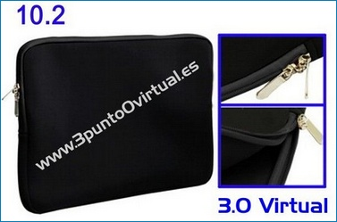 Funda Neopreno 10' Netbook / tablet . Negra